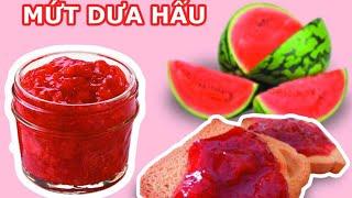 Cách làm mứt dưa hấu ngon dể làm-how to make delicious watermelon jam easy to make-Út Vlog