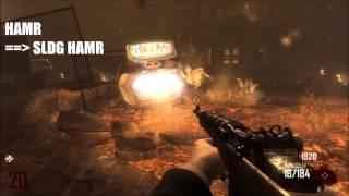 All weapon pack-a-punch // Toutes les armes améliorées // Call of Duty Black Ops 2