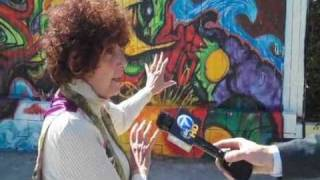 North Hollywood Graffiti Art Work -NOhO Arts District -The Voice of the Artist