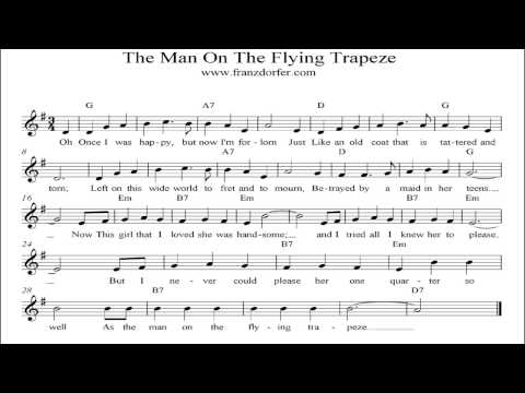 The Man On The Flying Trapeze - instrumental