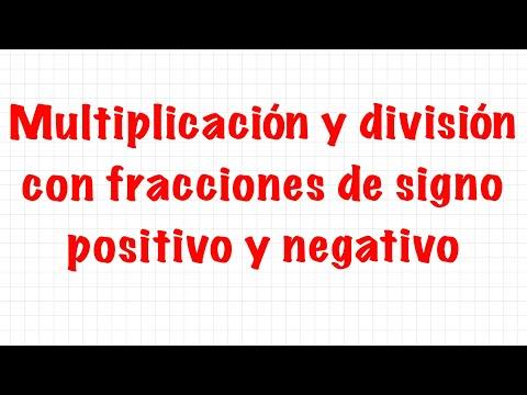 Sexto 2.3 Multiplicación o división de fracciones y números decimales from YouTube · Duration:  7 minutes 25 seconds