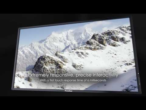 Promethean ActivPanel – Interactive Flat Panel Display with external Android device