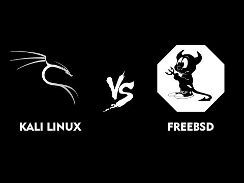 Attacking and Defending FreeBSD vs Kali Linux