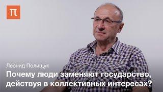 Разделение труда между государством и обществом - Леонид Полищук