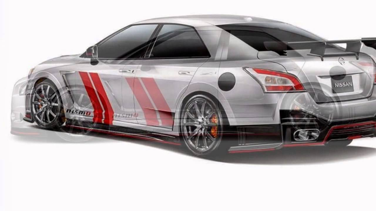 Nissan Maxima And Sentra Nismo Concepts Youtube