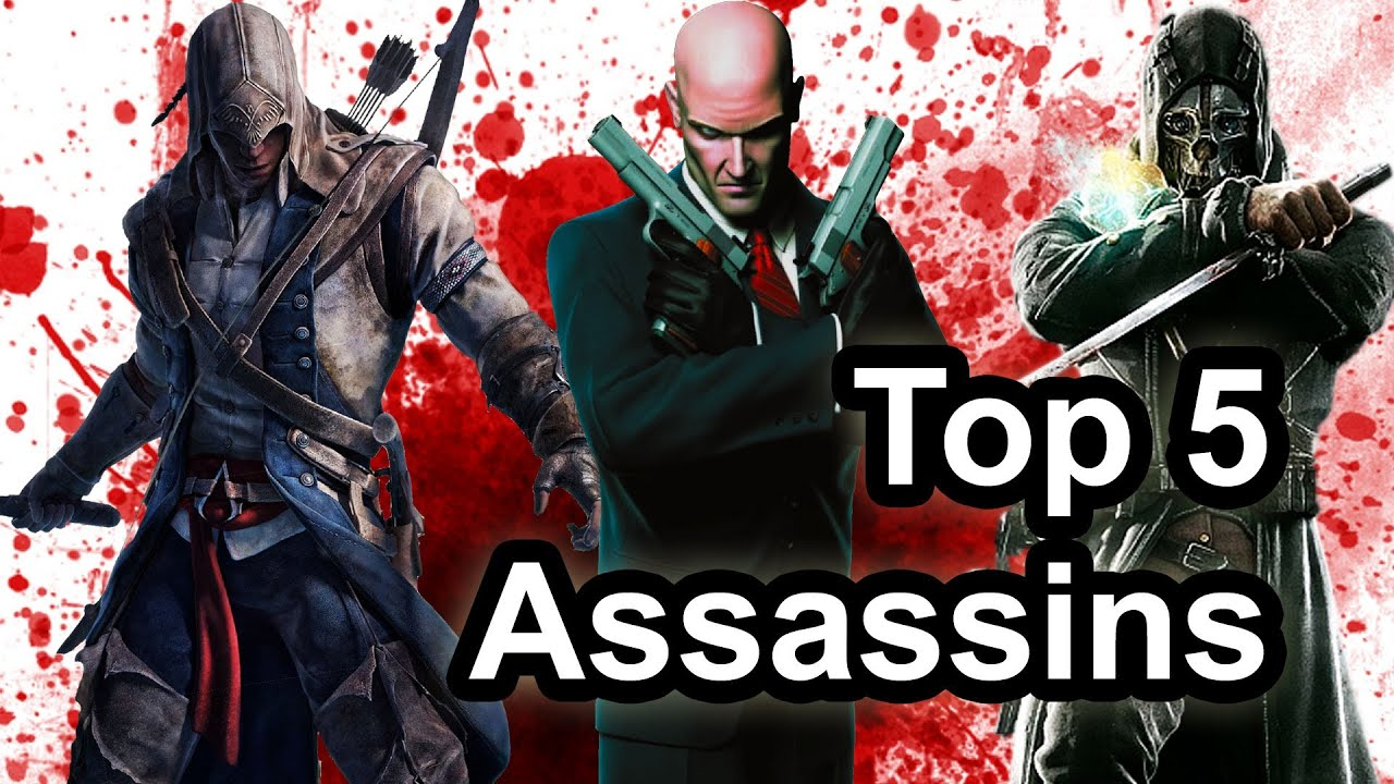 Top 5 - Assassins in video games - YouTube