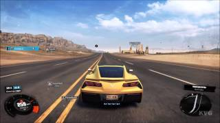 Chevrolet Corvette Stingray - 2014 - The Crew - Test Drive Gameplay (PC HD) [1080p]