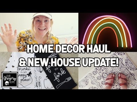 TARGET AND ROSS NEW HOME DECOR HAUL   NEW HOUSE UPDATE!