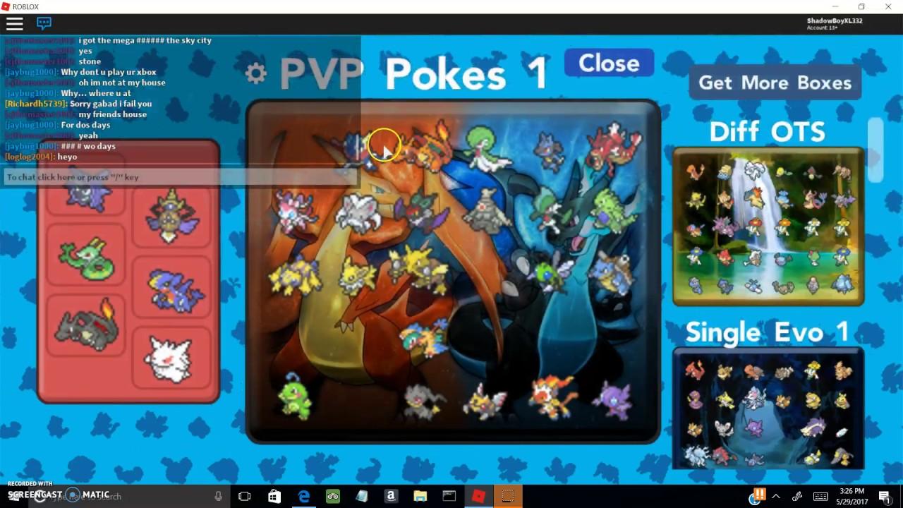 Roblox Pokemon Brick Bronze Using My 2nd Party Team And - Pokemon Brick Bronze My New Pvp Team Youtube