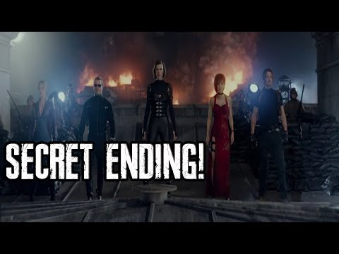 ENDING ASLI RESIDENT EVIL: RETRIBUTION!