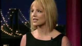 Britney on Letterman