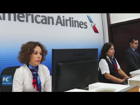 U.S. airline opens first office in Havana
