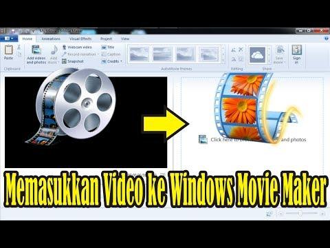 【Tutorial】 Cara Memasukkan Video ke Windows Movie Maker 2012 • Simple News Video