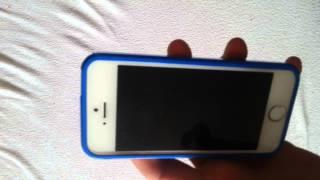 Nefunkční display iPhone 5S