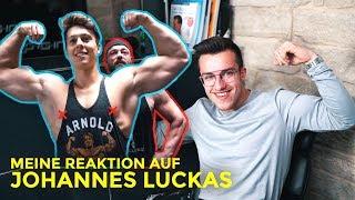 Meine Reaktion auf: 17 Jähriger baut 20kg Muskeln auf | Johannes Luckas Trainingsanalyse | Tim Gabel