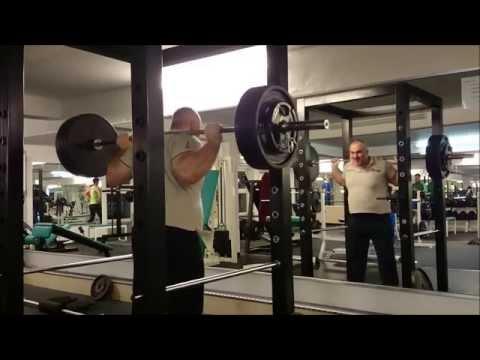 RAW Squats 180kg - 207,5kg Yasar Kücük 2014