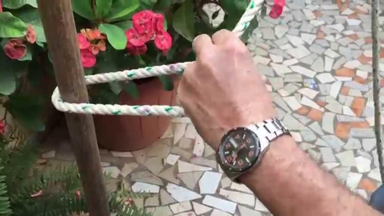 Comment Faire Un Noeud De Chaise Facile Et Simple