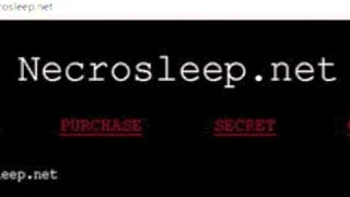 """NecroSleep"" Creepypasta Reading"