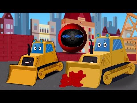 Bulldozer | Formation et utilisations | enfants Véhicule | Formation And Uses | Construction Vehicle