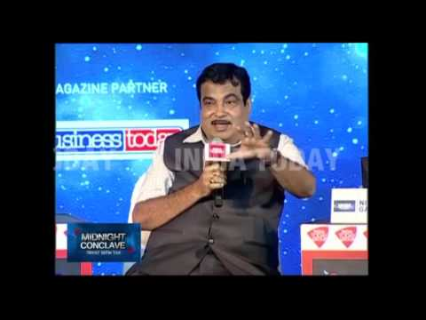 Midnight Conclave: Tryst With Tax, Nitin Gadkari Speaks