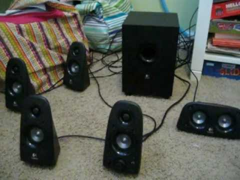 ac14e45a10e Logitech Z506 Speaker system review - YouTube