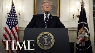President Trump Makes A Statement On Turkey & Syria From The White House | TIME