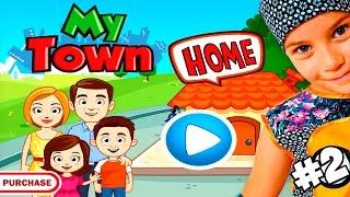 СМЕШНОЕ ВИДЕО ДЛЯ ДЕТЕЙ Новый мультик МОЙ ГОРОД ДОМ детская игра My Town