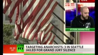 FBI terrorizes anarchists for refusing to testify before grand jury