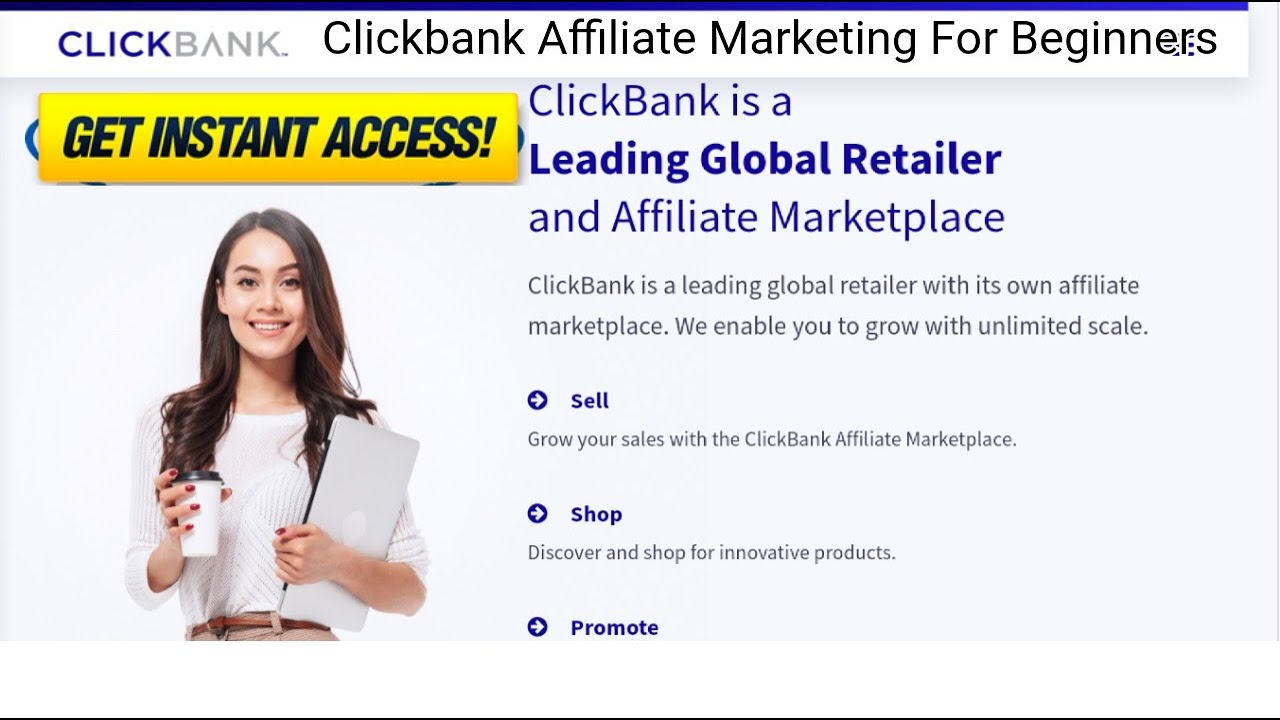 Clickbank Affiliate Marketing For Beginners 🛑 Make Money On Clickbank For Free 2020 Promote Products