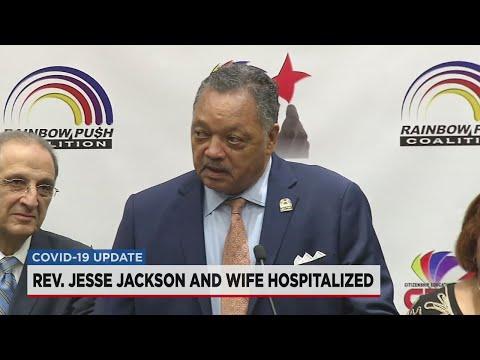Rev. Jesse Jackson And Wife Hospitalized With COVID-19