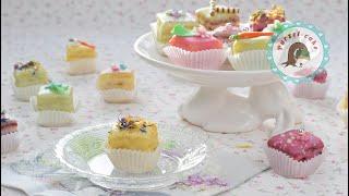 kleine feine Petit Fours / kleine Törtchen / mini Kuchen