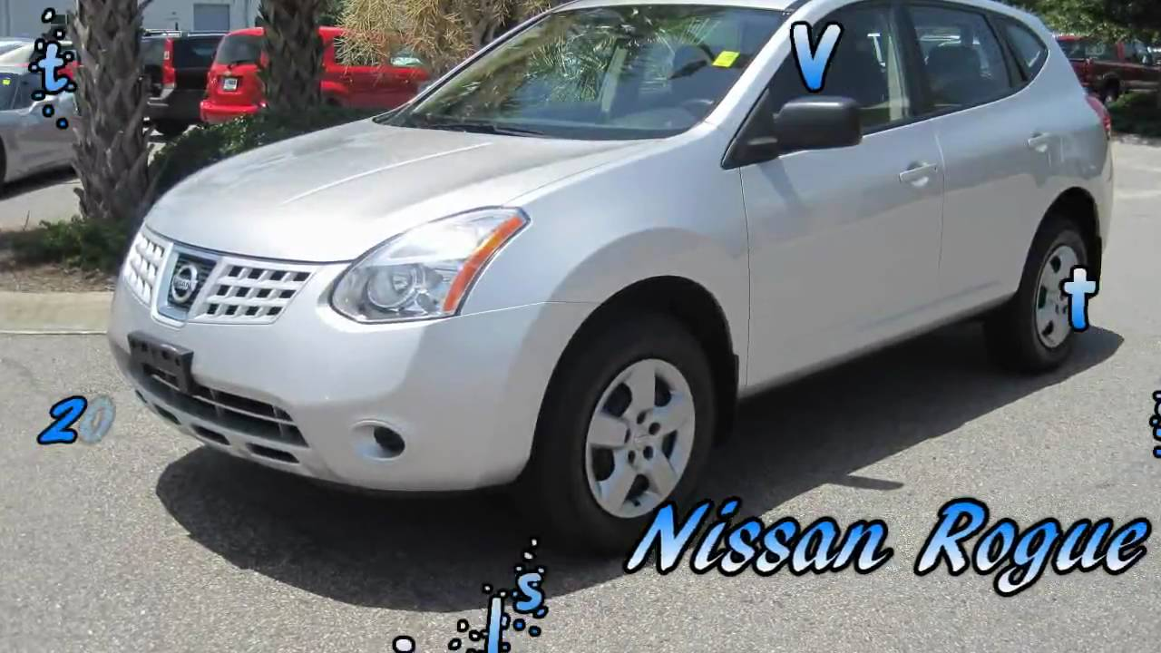 rogue 2009 nissan rogue sl silver gets great gas mileage. Black Bedroom Furniture Sets. Home Design Ideas
