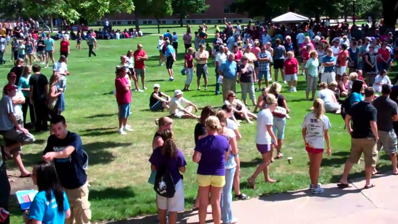 Coe College First-Year Student Bell Ringing - Youtube-4273