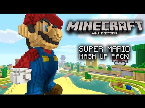 Minecraft Wii U Edition - Super Mario Mash-Up Pack