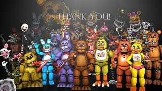 [SFM/FNaF/SPEED ART]  Thank You Image Remake