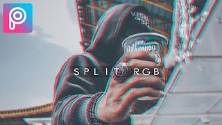 "Tutorial Split RGB ""Glitch"" di PicsArt - PicsArt Tutorial"