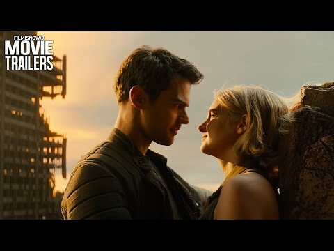 Tris & Four's Big Kiss - THE DIVERGENT SERIES: ALLEGIANT Clip 'Heights' [HD]