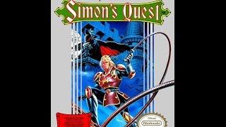 Castlevania II: Simon's Quest Прохождение на 100% (все концовки) NES Rus