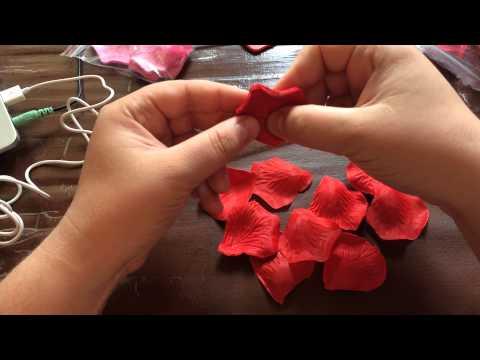 Своими руками лепестки роз