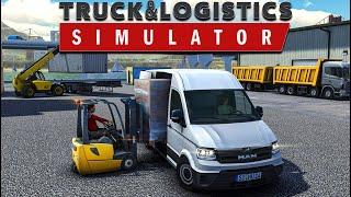 TÜRK YAPIMI SİMÜLASYON OYUN // Truck  Logistics Simulator
