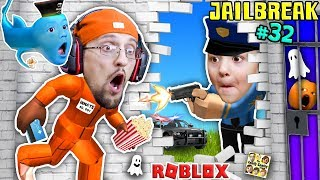 Download ROBLOX JAILBREAK! FGTEEV Escapes Jail @ 3am! Corrupt Cop Chase & Baby Shawn! Best Prison Ever (#32) Mp3 and Videos