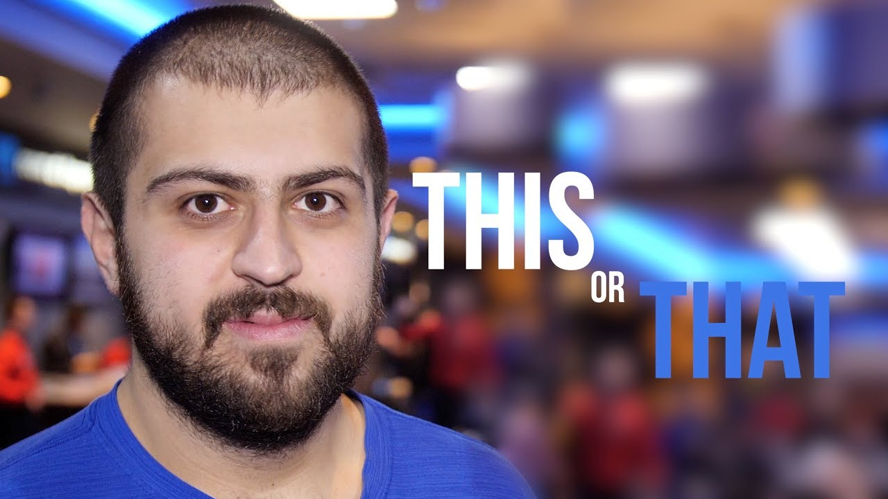 This or That? with WSOP Main Event Champion Scott Blumstein