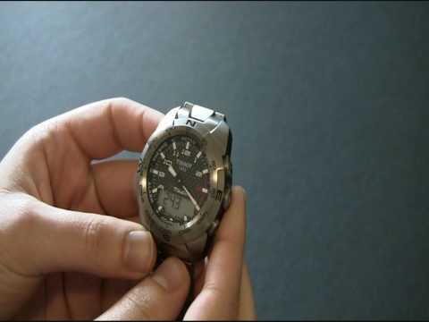 Tissot T-Touch Expert Watch Review