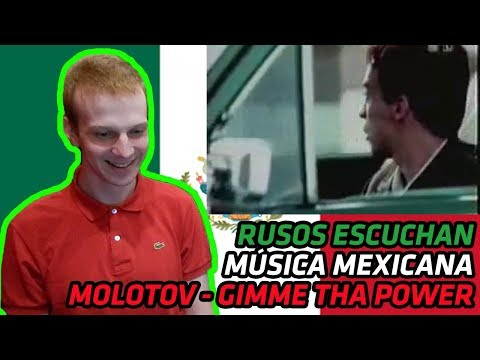 RUSSIANS REACT TO MEXICAN MUSIC  Molotov  Gimme Tha Power  REACTION