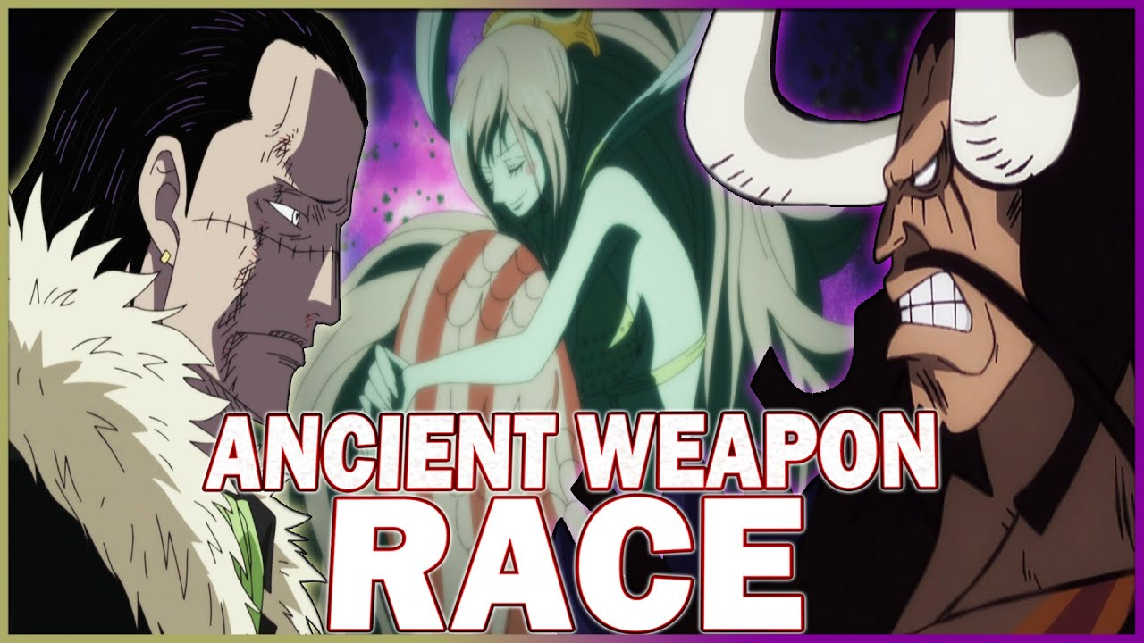 Ancient Weapons Race: The Partnership Between Kaido, Big Mom & Crocodile   One Piece Discussion