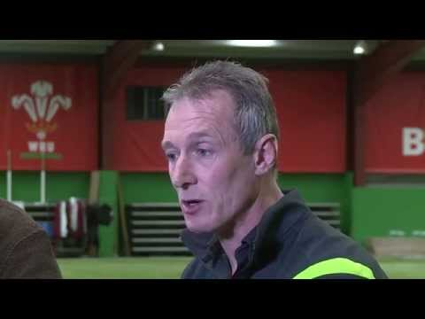 Wales Assistant Coach Rob Howley speaking after the 47-man training squad was announced
