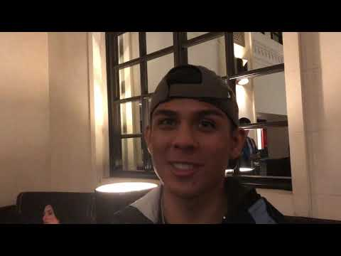 ANGEL MARTINEZ BOXING PROSPECT IMMEDIATE REACTION TO LOMA LINARES