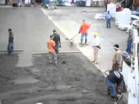 Pisos de concreto pulido youtube for Piso de concreto pulido