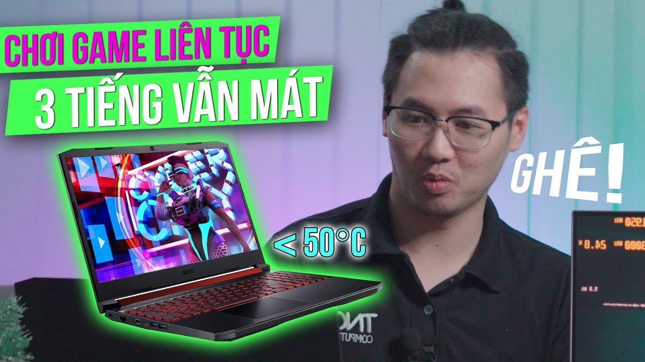 Thử Chơi GTA V Gần 3 Tiếng LIÊN TIẾP Trên Laptop Gaming Acer Nitro 5 Và Cái Kết Trên Nóc Nhà!