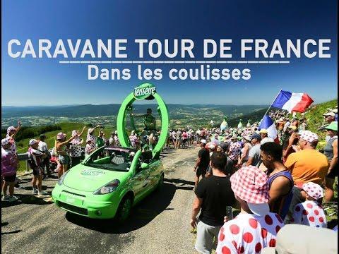 COULISSES CARAVANE TOUR DE FRANCE - Teisseire